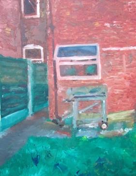 Backyard in Didsbury