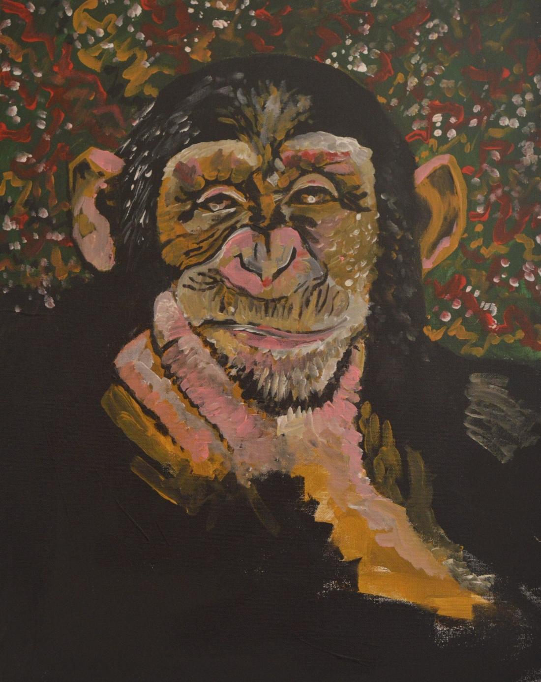 Thoughtful Chimpanzee